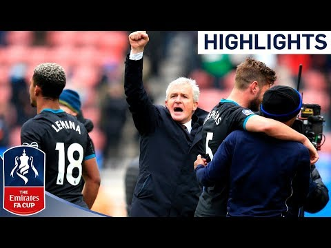 Saints See Off Plucky Wigan in Hughes&#; st Game | Wigan - Southampton | Emirates FA Cup /