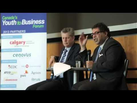 Antevorta Capital Partners   Canada Youth to Business Forum 2013