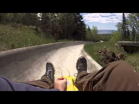 ALPINE SLIDE - Lutsen Minnesota