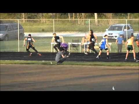 Knightstown High School 4x100 Record Breaking Relay
