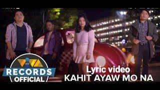 Kahit Ayaw Mo Na This Band Viva Records.mp3