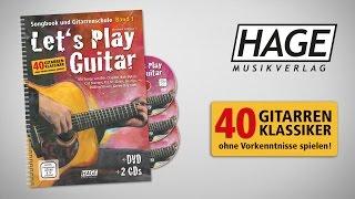 Let's Play Guitar - Band 1 - Songbook und Gitarrenschule (mit 2 CDs und DVD)