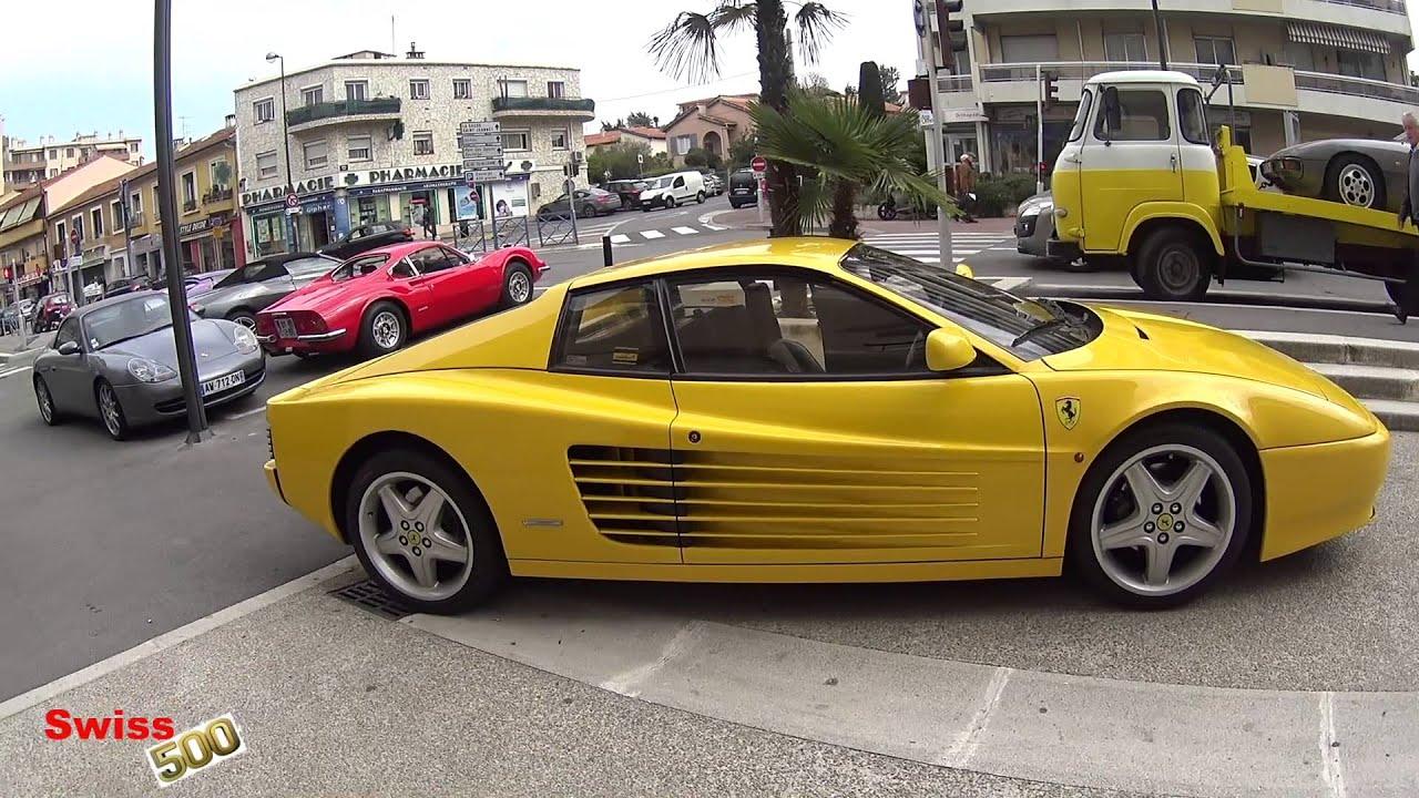 French Riviera Dino 246 Ferrari Testarossa Lamborghini