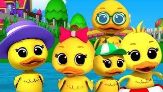 Lima bebek kecil   sajak anak-anak   lagu di indonesia   Duck Song   Kids Songs   Five Little Ducks