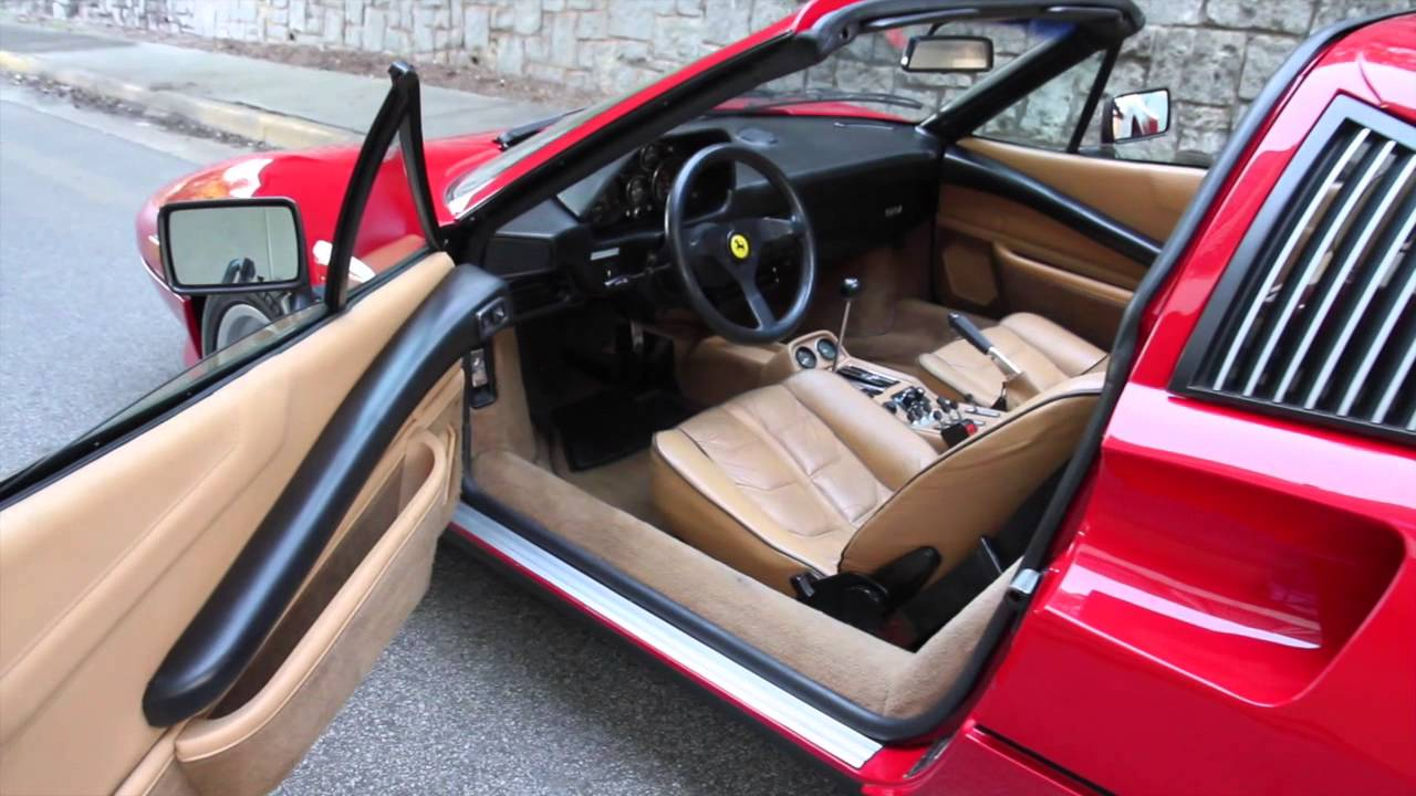 Ferrari 308 Gts For Sale >> 1985 Ferrari 308 GTS Quattrovalvole for sale at Motorcar Studio - YouTube