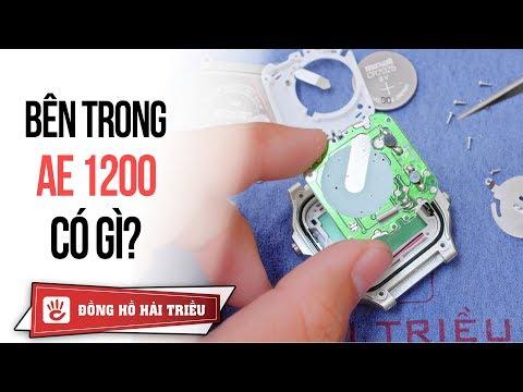 Tháo Banh đồng Hồ SKMEI Giá 100k Giống Hệt Casio AE-1200 Chính Hãng
