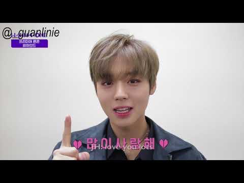 [ENGSUB] Wanna One Premier Fan Con Behind