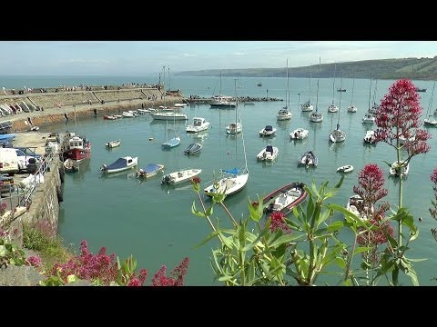 New Quay, West Wales, on a Hot Summers' Day 18/06/2014