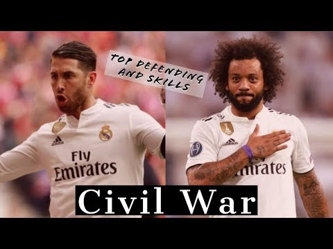 Marcelo vs Ramos - 2019- top defending, skills and goals