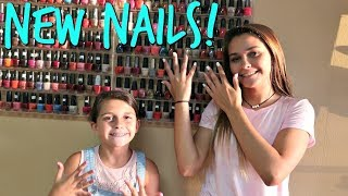 GIRLS DAY AT THE BEAUTY SALON! FILMING AT SCHOOL WITH ELLIE! | EMMA AND ELLIE