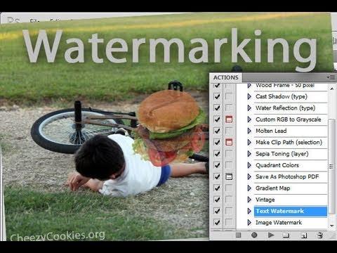 Photoshop - Batch Watermark