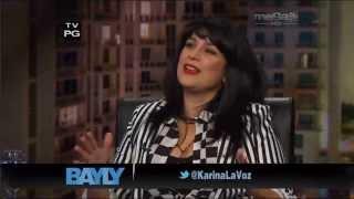 Jaime Bayly invita a la cantante Karina 2/2