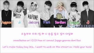 GOT7 - A [Hangul/Romanization/English] Color & Picture Coded HD