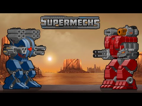 Флеш-Игра (SUPER MECHS):№2 Эпическая битва