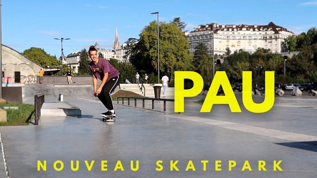 Je skate le nouveau skatepark de Pau !! (avec des gens cool)