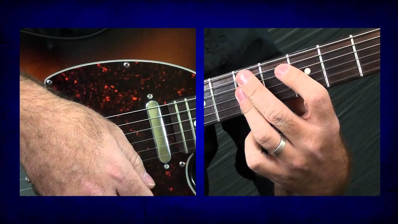 Blues Guitar Lesson Texas Flood Intro Stevie Ray Vaughan