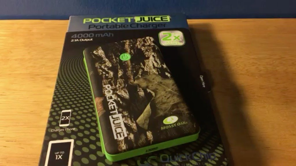 Pocket Juice Portable Charger Camouflage Review