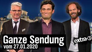 Extra 3 vom 27.01.2021 mit Christian Ehring