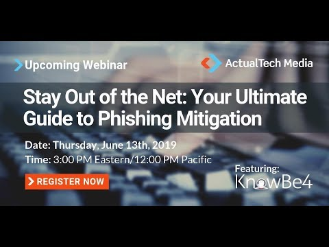 Stay Out of the Net: Your Ultimate Guide to Phishing Mitigation with KnowBe4
