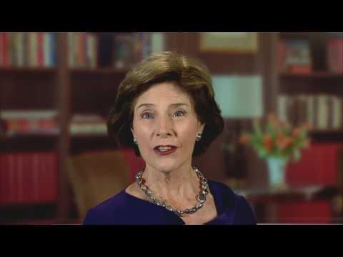 PEACE THROUGH BUSINESS(R) - 2015 Laura Bush