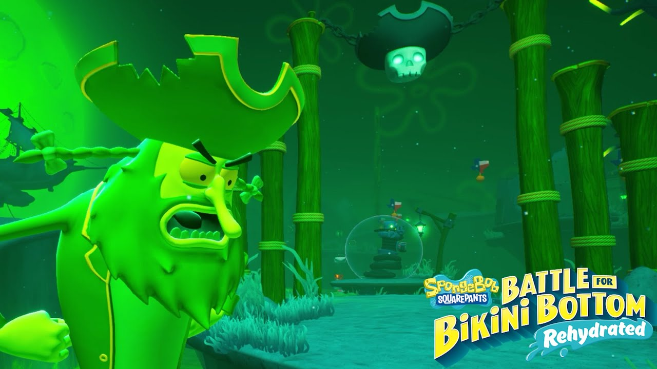 Bob Esponja Battle for Bikini Bottom Rehydrated #17 LA ULTIMA ZONA, LA TUMBA DEL OLANDÉS ERRANTE!
