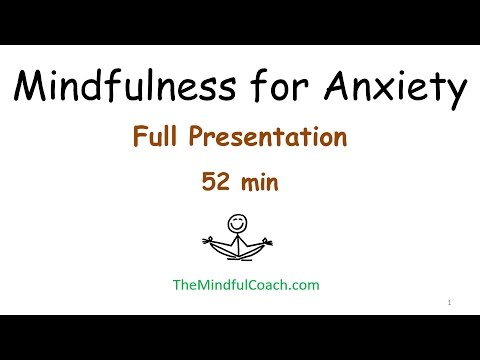 Mindfulness for Anxiety - Mental Health Day - University of Waterloo, ON, Canada