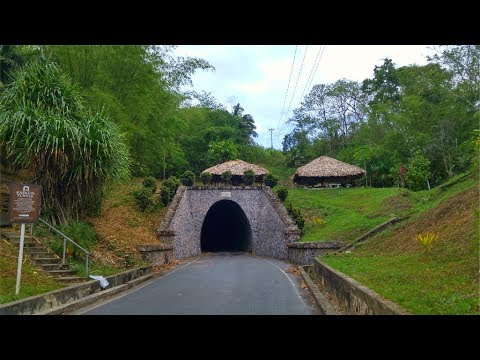 Knolly's Tunnel - The Longest Tunnel In The Caribbean #Gallivanting