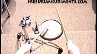 Drum Rudiments #38 - Single Ratamacue - FreeDrumRudiments.com
