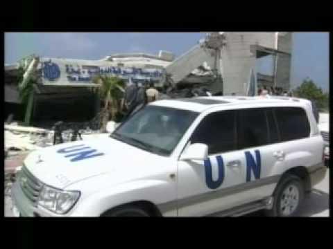 Gerry Adams in Gaza