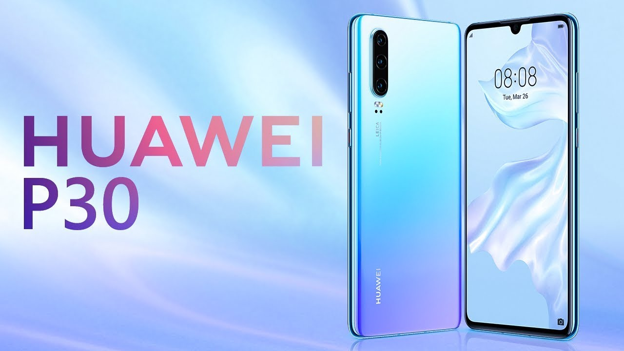 هواوي Huawei P30 Youtube