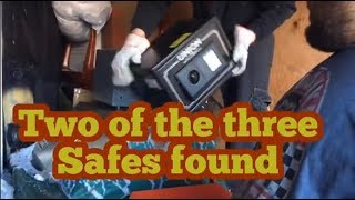 I Found two safes in an abandoned storage locker