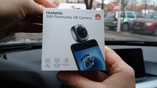 Unboxing HUAWEI EnVizion 360 VR Camera CV60 - review and my opinion