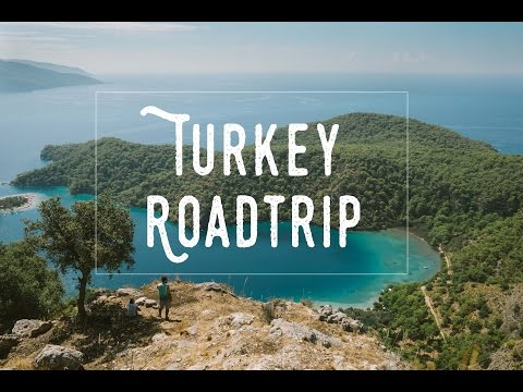 Road trip through the south coast of Turkey and Istanbul