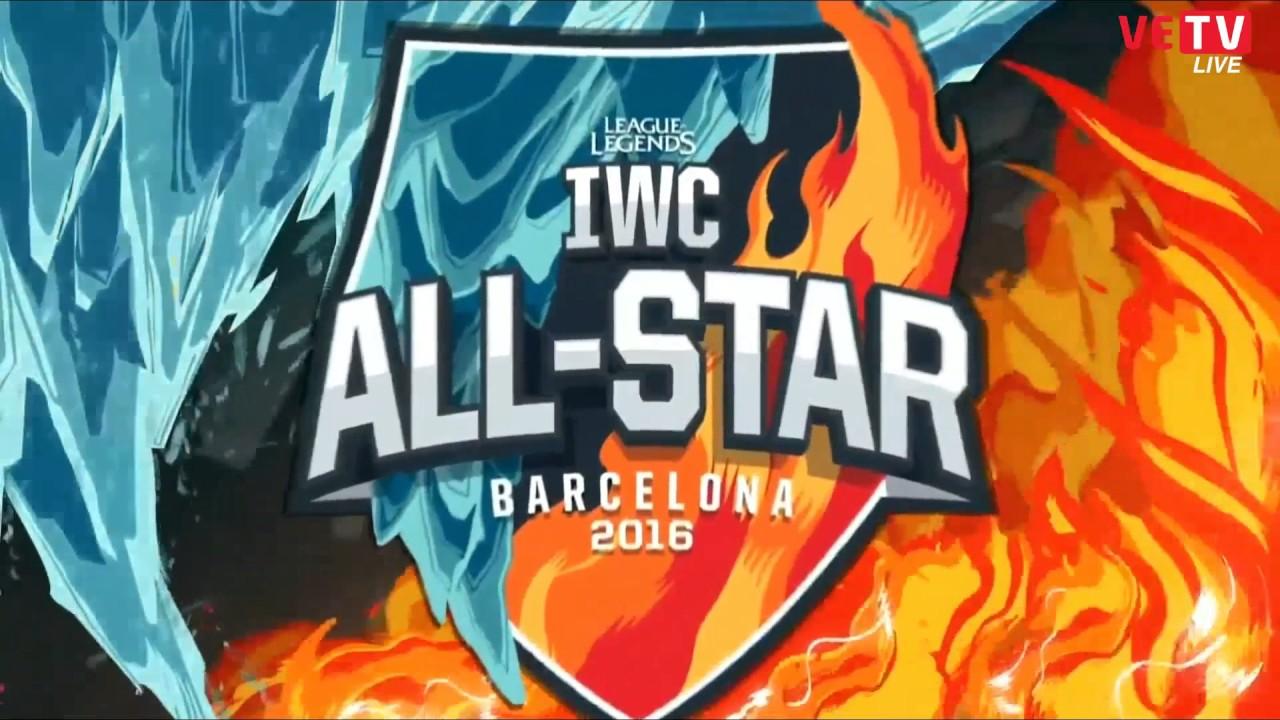 Việt Nam vs Bắc Mỹ (5 Lee Sin vs 5 Graves) - Allstar Wildcard 3-12-2016