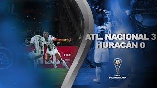Atlético Nacional vs. Huracán [3-0] | GOLES | Fase uno (Ida) | CONMEBOL Sudamericana 2020