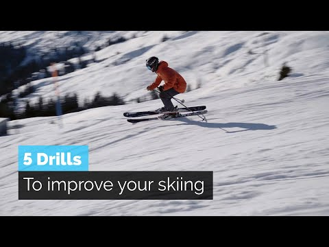 HOW TO SKI | 5 DRILLS TO IMPROVE YOUR SKIING