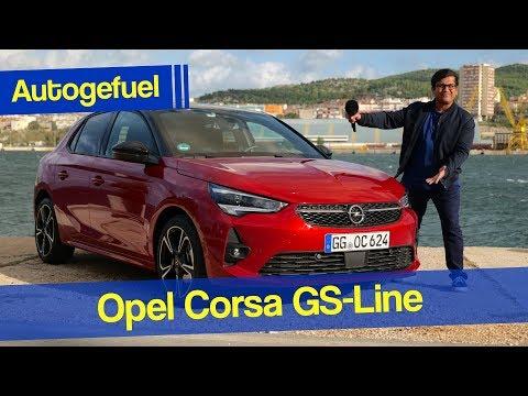 2020 Opel Corsa REVIEW GS Line 1.2 T Vauxhall Corsa - Autogefuel