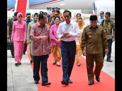 News | Peresmian Bandar Udara APT Samarinda Oleh Presiden Ir. H. JOKO WIDODO