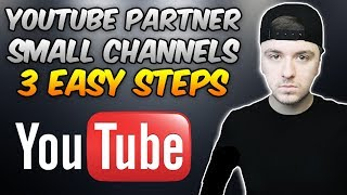Video How To Become A YouTube Partner As A Small Channel download MP3, 3GP, MP4, WEBM, AVI, FLV September 2018