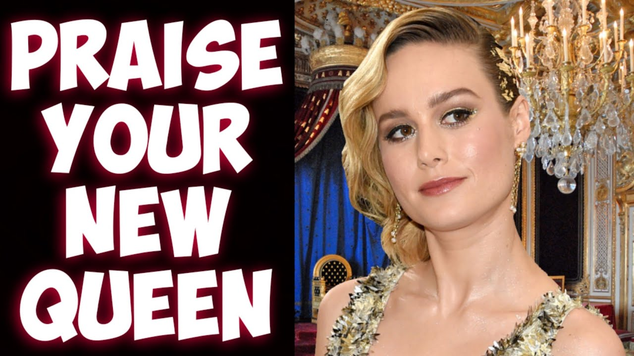 The media praises Brie Larson's YouTube channel! Says she is the future?!