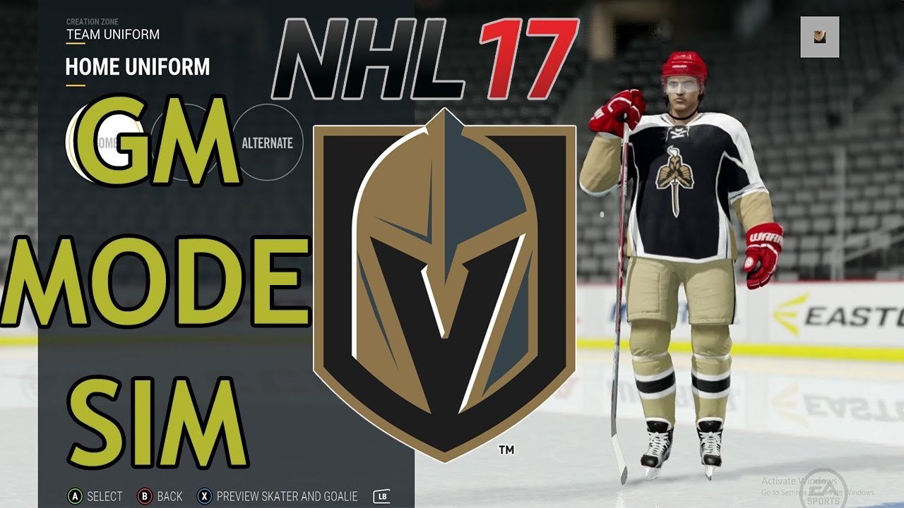 wholesale dealer bbee8 ca09c vegas golden knights nhl 17