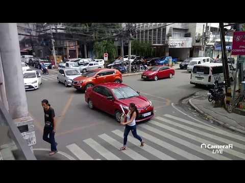 Philippines LIVE - Traffic Cam & Walk Before The Storm Cebu City Philippines