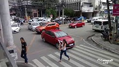Philippines LIVE - Traffic Cam & Walk Before The Storm Cebu City Philippines