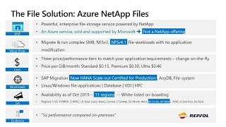 Migrate more workloads to Azure faster with Azure NetApp Files | THR3164