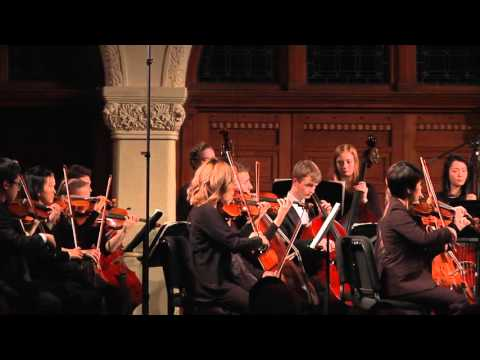 Mozart: Eine kleine Nachtmusik: McGill Symphony Orchestra Montreal conducted  Alexis Hauser
