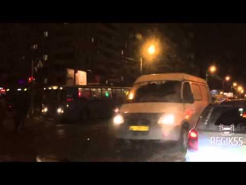 В Омске в ДТП с автобусом пострадали 2 человек