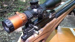 Самозарядная PCP-винтовка. Semi-automatic PCP airrifle.