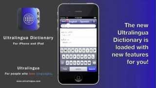 Whats new in the Ultralingua Dictionary Bookshelf