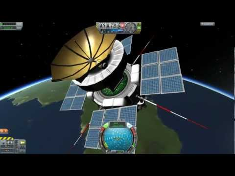 Kerbal Space Program Docking And Space Stations Tutorial ...