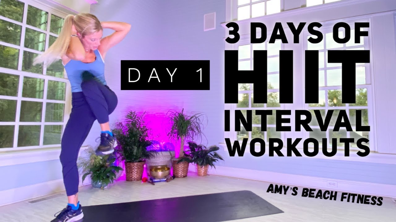 20 MIN HIIT Interval Workout - Day 1 0f 3
